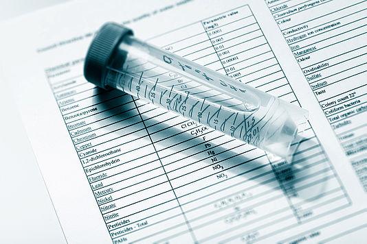 Chemische Wasseranalyse